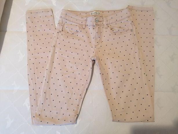 Calças rosa Pull & Bear