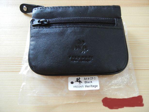 Visconti portfel lub etui z kolkien na klucze w srodku