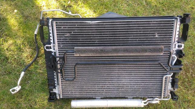 Mercedes w211 3.5 benzyna chłodnica,klimatyzacja,wentylator