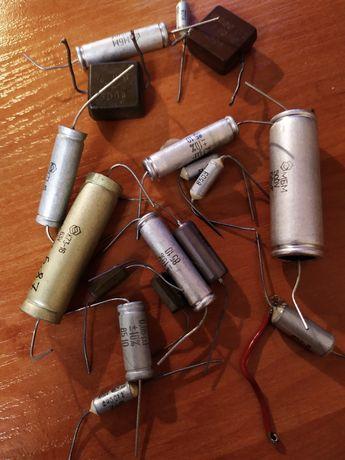 Продам конденсаторы К73-17,К73-16,МБМ и др.