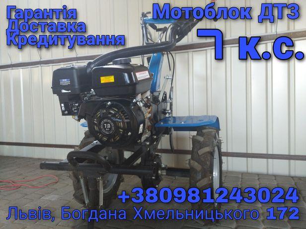 Мотоблок ДТЗ 7 к.с. + фреза