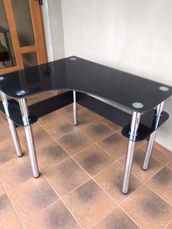 Стіл письмовий стіл скляний стіл