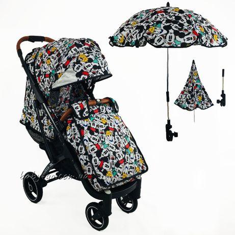 зонт.зонтик для коляски.с креплением.аксессуары.yoya.йойа.йо йа.дисней