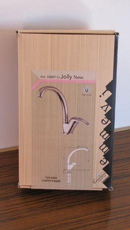 Хромированный смеситель для кухни Jolly New. Италия (цена упала)