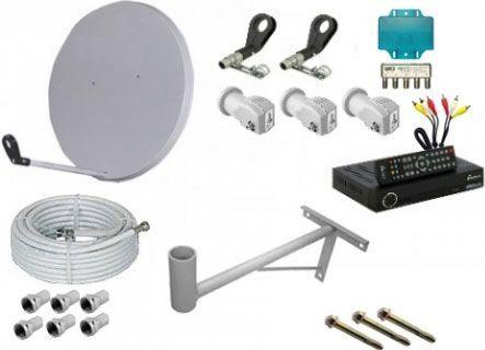 Установка супутникових і ефірних антен (Т2) і продаж обладнання до них