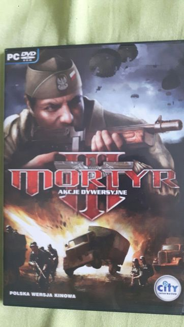 Gra PC Mortyr III wersja językowa PL komputer używana