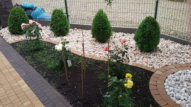K0 Grys Biała Marianna kamień do ogrodu podłoże do ogrodu