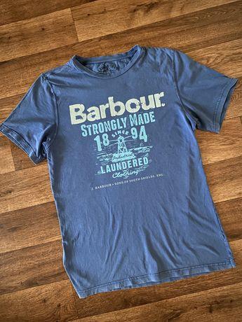 Футболка Barbour ( оригинал). Belstaff. Barberry. Armani.