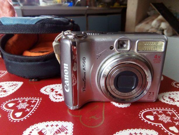 Продам цифровой фотоаппарат Canon a560 в комплекте с сумкой Lowepro