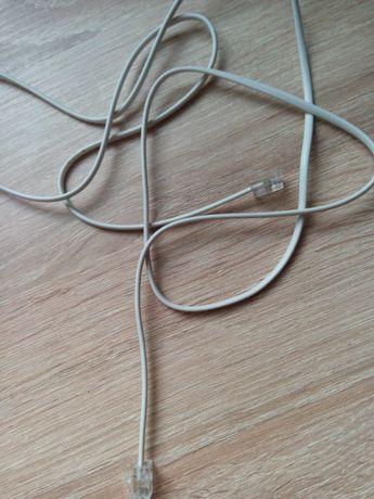 kabel telefoniczny z dwoma wtykami