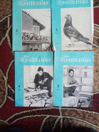 Журнали для любителів голубів, 1970р ,  НДР