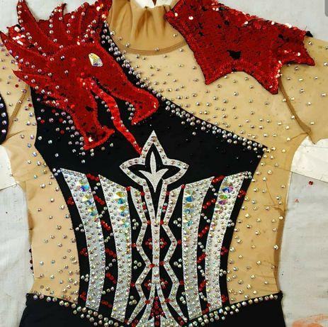 Костюм для танцев гимнастики диско пилон