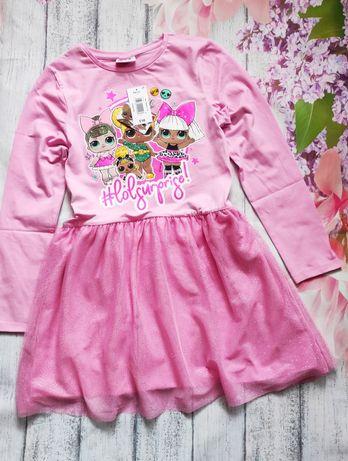 Платье с Лолой сукня LOL с пышной юбкой MATALAN Англия 6 7 8 9 10 лет