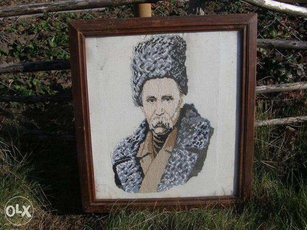 Картина - вышиванка, Тарас Шевченко