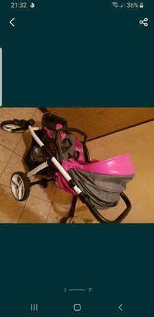 Wózek bebetto  różowy