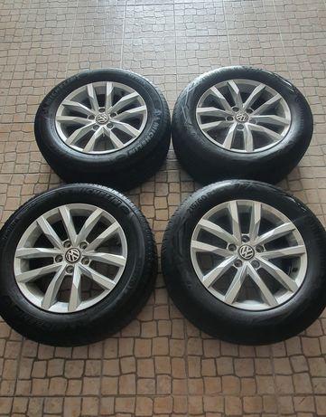"""Jantes VW 16"""" 5x112 com penus 215/60R16"""