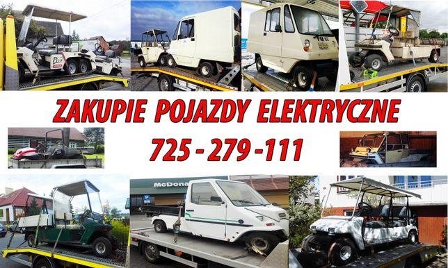 Zakupie części akcesoria pojazd wózek elektryczny Melex Ezgo Club Car