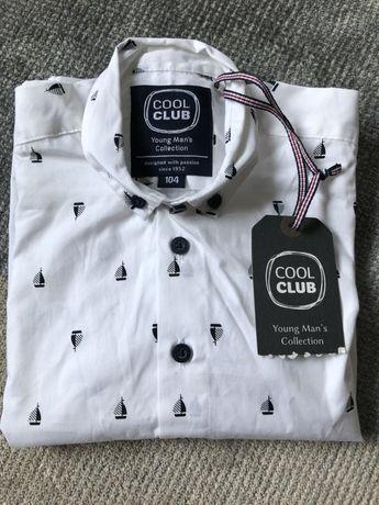Koszula biała wizytowa cool club smyk