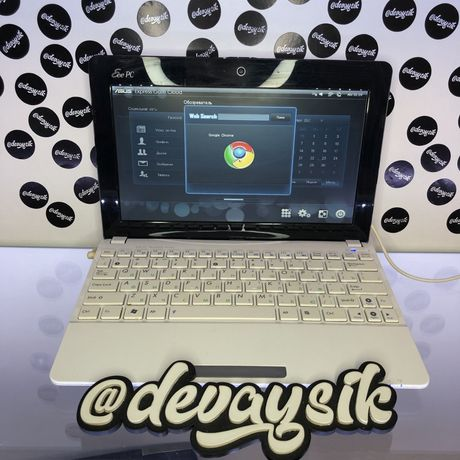 Тонкий и красивый нетбук Asus Eee PC 1015BX ноутбук