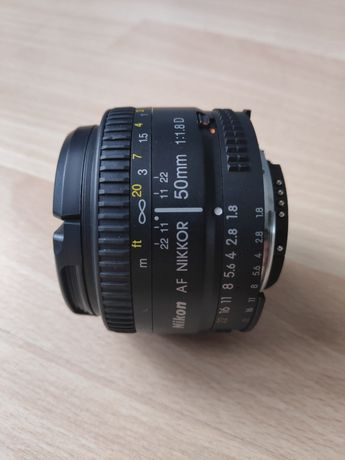 Obiektyw Nikon Nikkor AF 50mm f/1.8 D (JAA013DA)