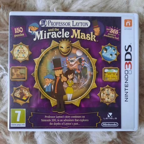 Professor Layton and the Miracle Mask Nintendo 3DS