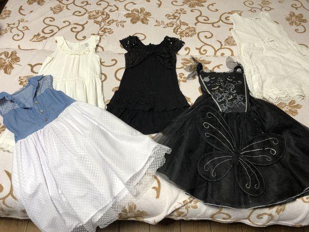 Отдам 5 праздничных платьев на девочку за 200 грн
