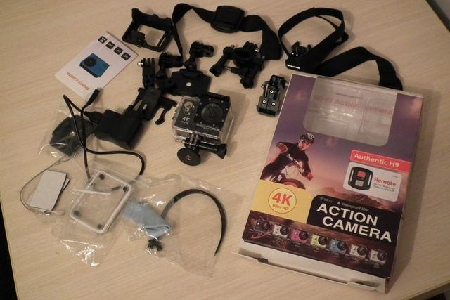 Kamera sportowa 4K Ultra HD GO WiFi Authentic H9 praktycznie nowa