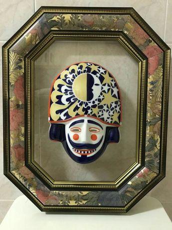 Quadro com Máscara Sargadelos