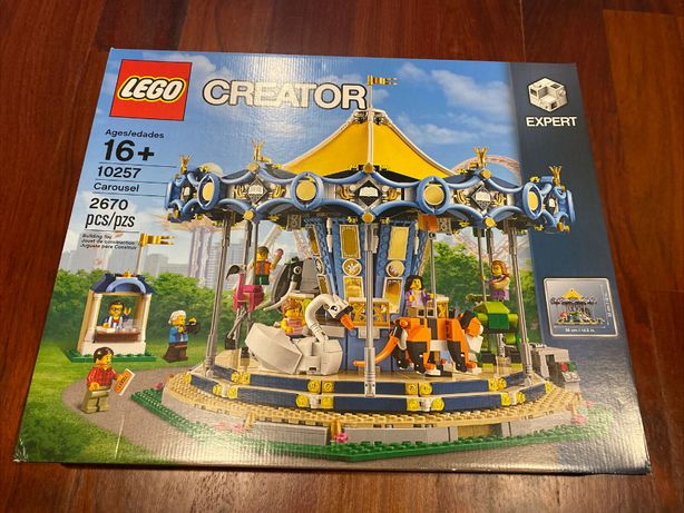 LEGO CREATOR 10257 - Karuzela - NOWY i ORYGINALNY zestaw !!!