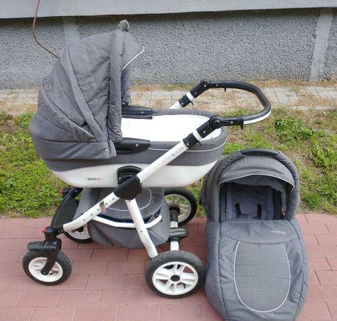 Wózek 2w1 Coneco. Idealny na jesień i zimę!
