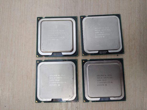 Процессор Intel Core 2 Duo E7600,E8200,E8300,E8400 для s775