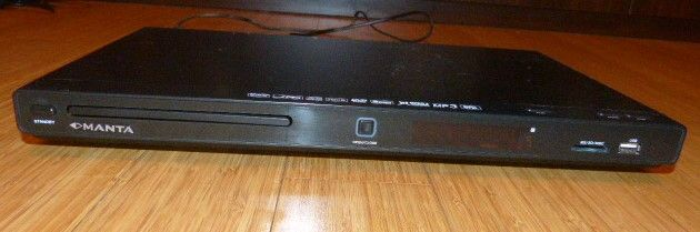 Manta odtwarzacz DVD, CD + USB