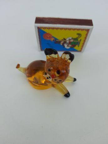Фігурка кіт скло