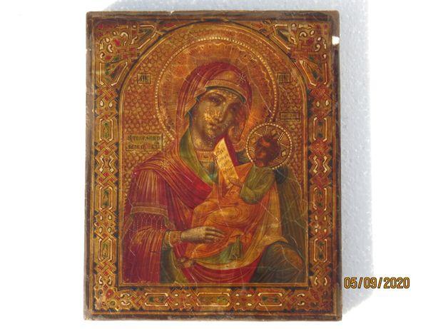 Икона Богородицы Богородица Утоли мои печали 19-20 век