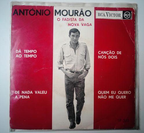 "Vinil ""45 7""António Mourão Dá tempo ao tempo."