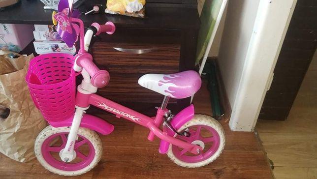Rowerek biegowy Dziewczecy