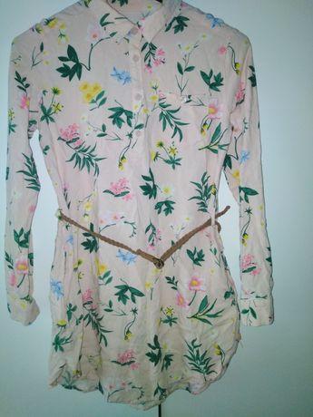 Tunika- koszula H&M rozmiar 140 cm