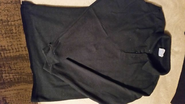 Koszulka polo chłopięca czarna 152