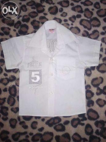 Белая и нарядная тениска!!!