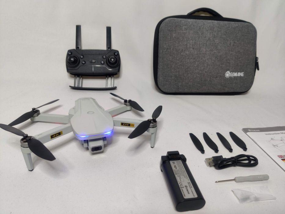 [NOVO] Drone EX5 GPS 4K [1 KM] [30 Minutos] 5.8 GHz + Mala Transporte