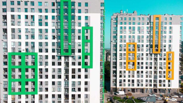 Продаж 2 кім. квартири 60,60 м2 ЖК Щасливий 3 черга НоваБудова