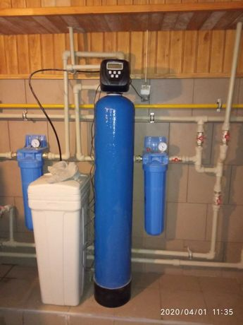 Умягчитель для воды Clack 1054 для котла и сантехники США.