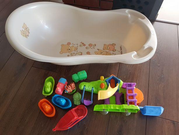 Sprzedam wanienke plus zabawki do kąpieli