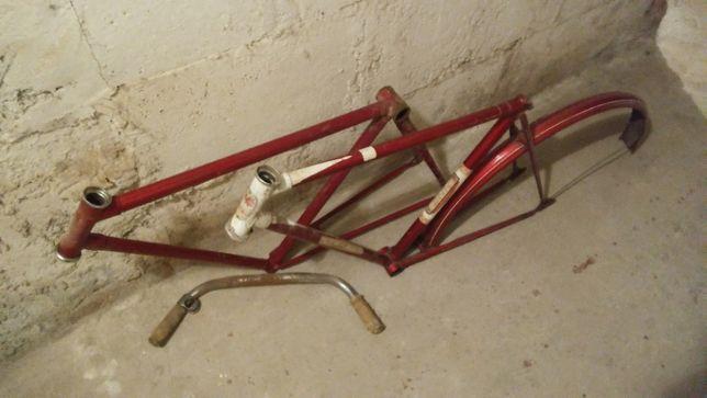 Stare ramy rowerowe