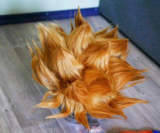 Peruka Dragon Ball SSJ Son Goku cosplay