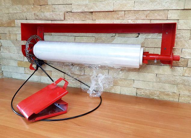 Stół do pakowania dyspenser folii, folia strech łatwe pakowanie paczek