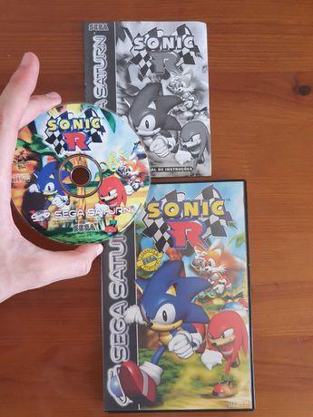 Jogo Sonic R (Sega Saturn)