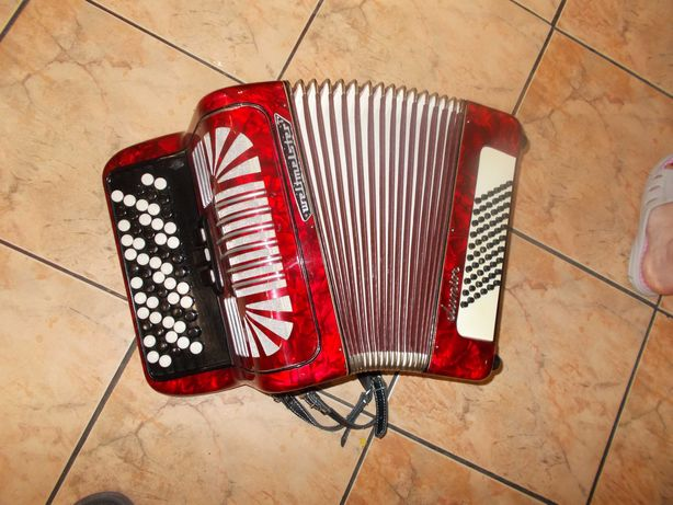 akordeon guzikowy weltmeister junior 60 basów Gryf B  z gwarancją
