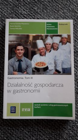 Podręcznik Działalność gospodarcza w gastronomii