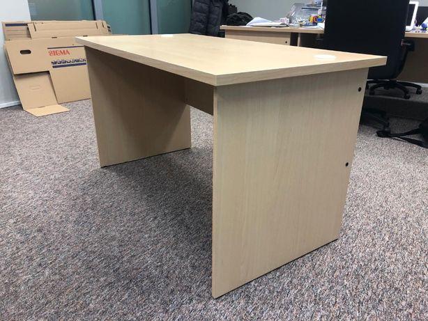 Solidne skandynawskie biurko w stanie bdb
